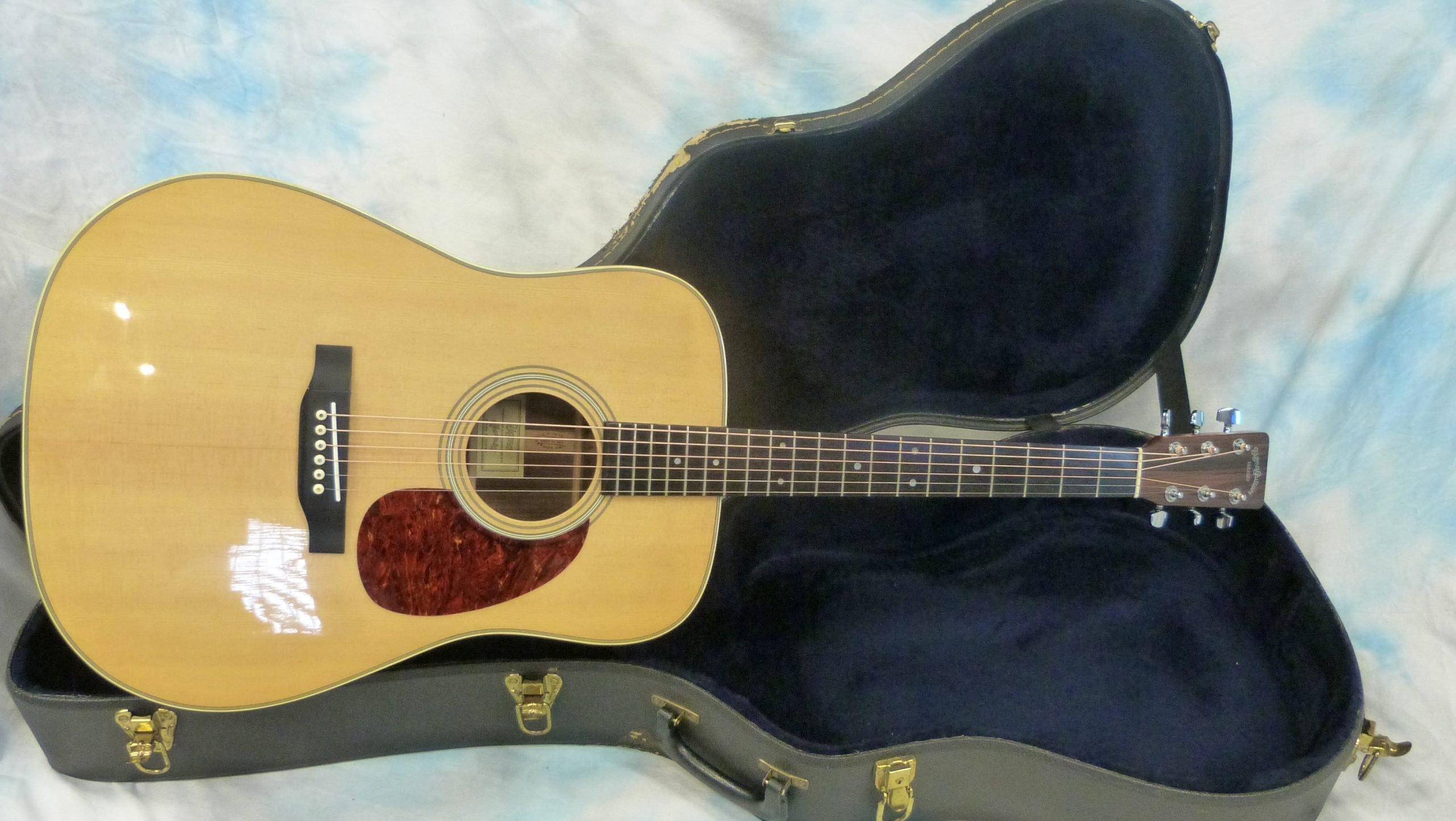 Sigma Sdr 28 1980 S Korean Inc Hard Case Austin Guitars